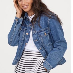 H&M LOGO Denim Jacket